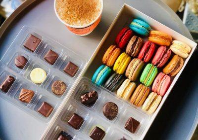 Chocolate and Macarons